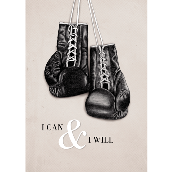 Kunstdruck Din A4 - I CAN & I WILL | DIE PAPPERIE
