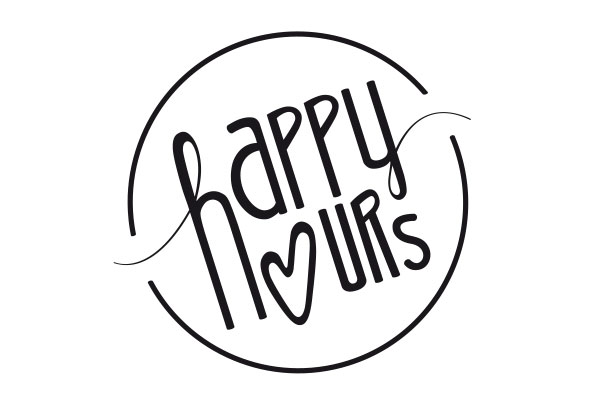 Designagentur - Logodesign Happy Hours by Margit Giselbrecht